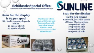 Sunline Scholastic Special Offer