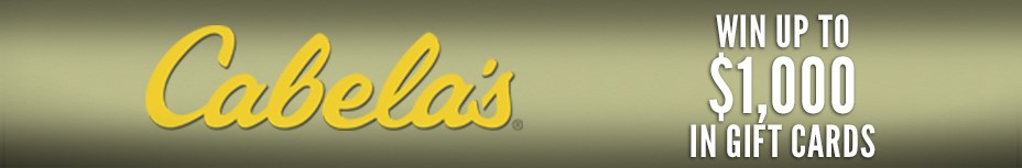 Cabela's Up To $1,000 Gift Cards