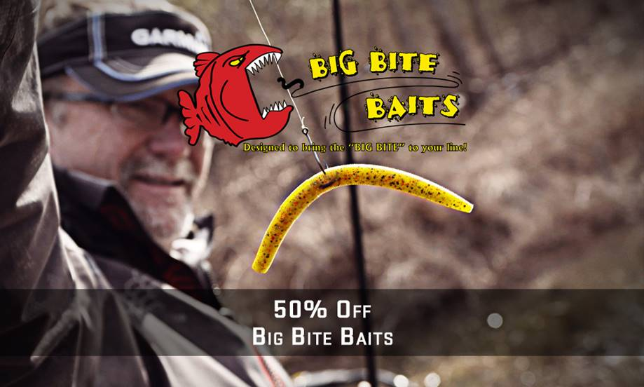 Big bite baits on board for the 2017 cabela s collegiate for Cabelas college fishing