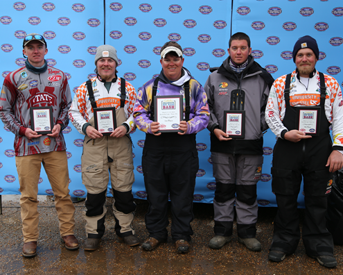Photo gallery collegiate bass championship for Cabelas college fishing