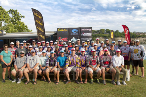 2018 Team Cabela's Collegiate Angler Contingency Program