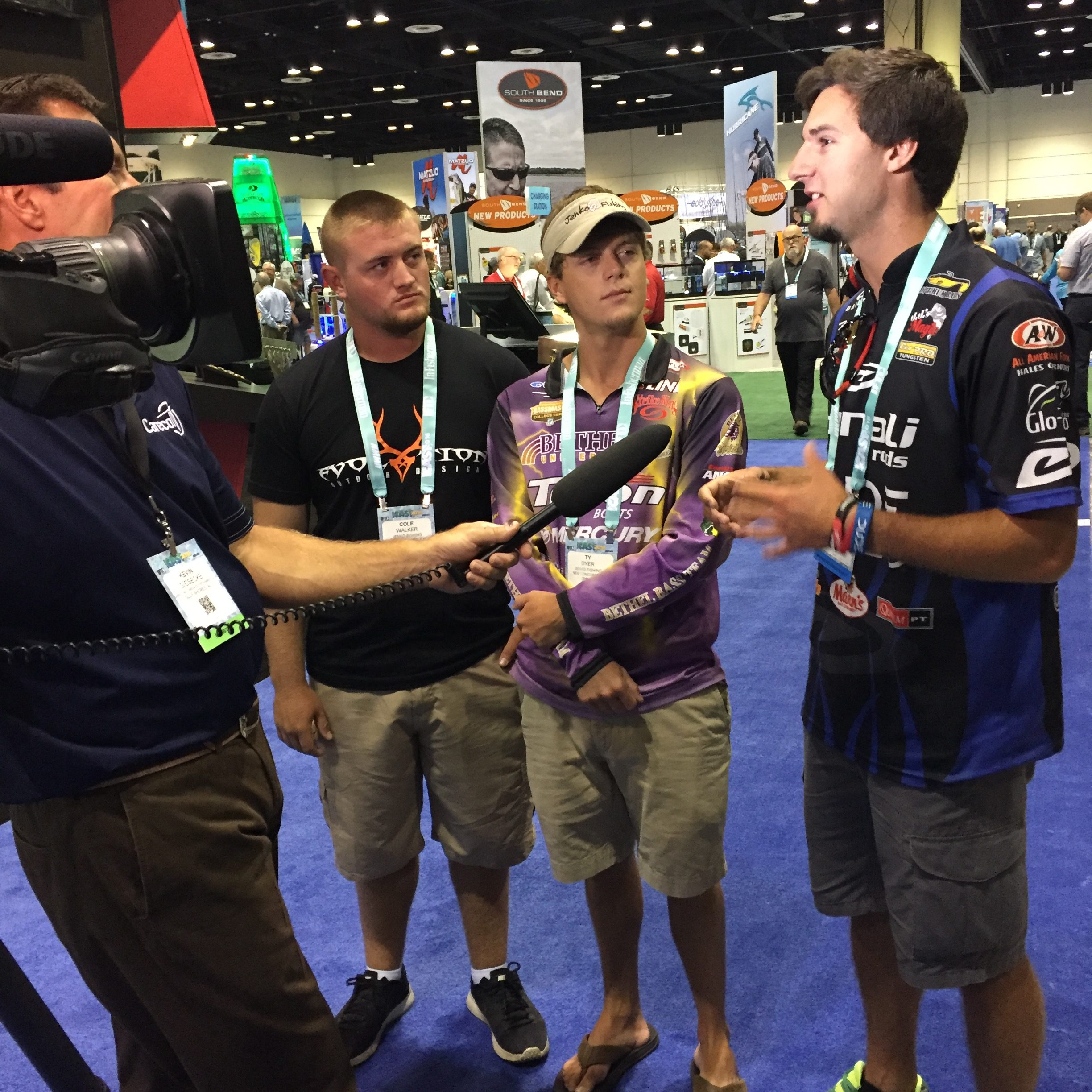 Cabela 39 s collegiate bass fishing series is headed to icast for Cabelas college fishing