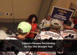 Cabela's Renews Partnership with the Cabela's Collegiate Bass Fishing Series for the Thirteenth Straight Year