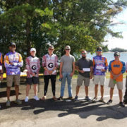 2017 Clemson Bass Fishing Team Trail - Lake Hartwell - October 1, 2017
