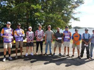 2017 Clemson Bass Fishing Team Trail - Lake Hartwell - October 1, 2017