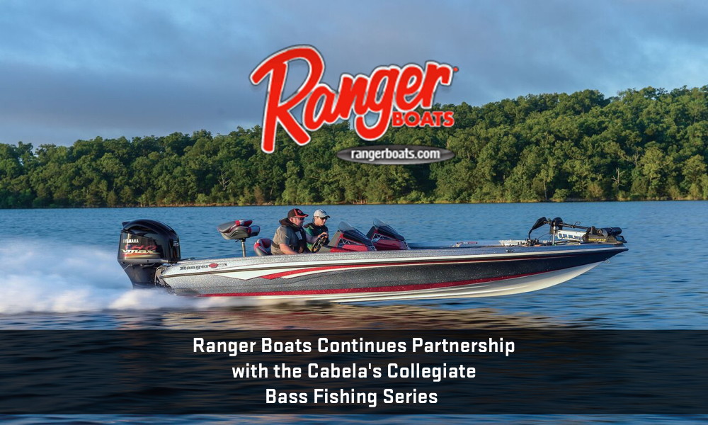 Ranger boats continues partnership with the cabela s for Cabela s fishing boats