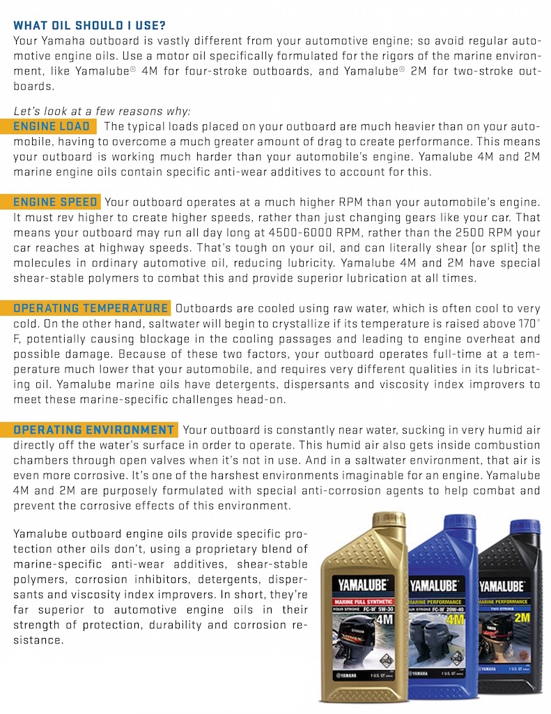 Picking The Best Yamaha Engine Oil And Lube Collegiate Bass Yamalube Sport Motor For More Information Visit Https Yamahaoutboardscom En Us Home Maintenance All