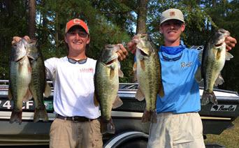 2017 Clemson Bass Fishing Team Trail