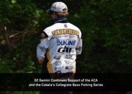 G2 Gemini Continues Support of the ACA and the Cabela's Collegiate Bass Fishing Series