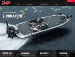 Ranger Boats New Website